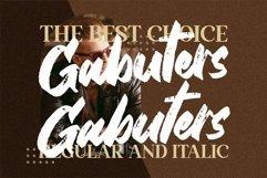 Gabuters - Strong Brush Font Product Image 3