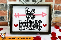 Valentine's Day SVG | Be Mine Product Image 1