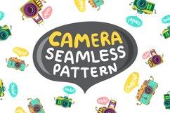 Camera. Seamless Pattern Product Image 1