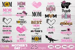 Mothers Day SVG Bundle, Mom Mother's Day SVG Product Image 1