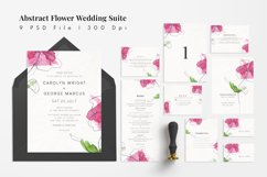 Abstract Flower Wedding Suite Product Image 1