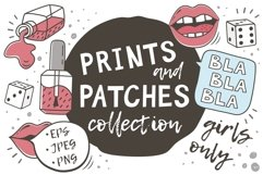 PRINTS and PATCHES PACK Product Image 1