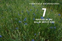 Farm field digital background Product Image 4