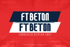 FT Beton Condensed Product Image 1