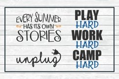 Summer Fun Design Bundle, SVG Cut Files for Crafters Product Image 6