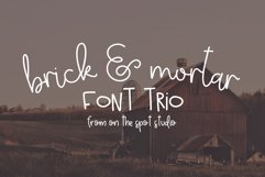 Brick & Mortar Trio Product Image 1