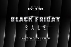 5 Black Friday Text Effect Silver Gold Illustrator Product Image 3
