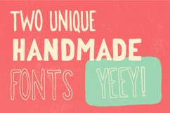 George & Francis Font Pack + Handdrawn shapes