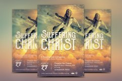 Christ Suffering Flyer Template Product Image 2