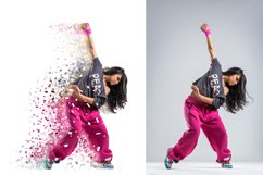 Splatter Dispersion Photoshop Action Product Image 3