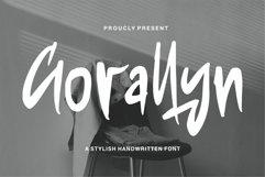 Gorallyn - A Stylish Handwritten Font Product Image 1