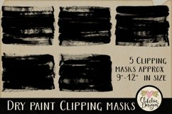 Dry Paint Photoshop Clipping Masks & Tutorial Product Image 6