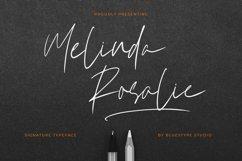 Melinda Rosalie - Signature Handwritten Font Product Image 1