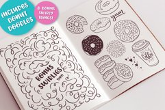 Donut Derby, a tasty caps font, Best Seller Product Image 5