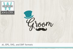 Wedding SVG - Groom Product Image 2