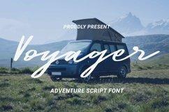 Web Font Voyager Font Product Image 1