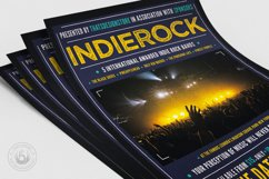 Indie Rock Flyer Template V1 Product Image 5