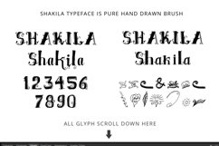 Shakila Typeface Hand Drawn Ornament Product Image 2