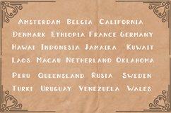 Aradeva Vintage Display Font Product Image 3