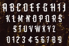 Satan - Modern Tattoo Font  Product Image 2