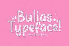 Web Font Bulias Product Image 1