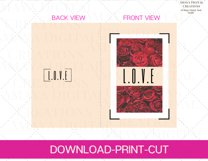 Love PDF Card E card,Card Instant Down Product Image 5
