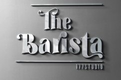 The Barista Font Product Image 1