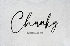 Chunky - Handwritten Font Product Image 1