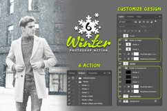 6 Winter Photoshop Action Product Image 4