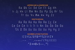 ULTRA COMET Font Product Image 3