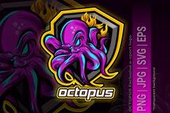 e-sport logo OCTOPUS Product Image 1