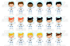 Astronaut Clipart, Space, Planets, Rocket Product Image 2