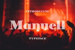 Manuell Font Product Image 1