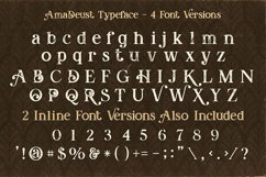 AmaDeust - Display Font Product Image 2