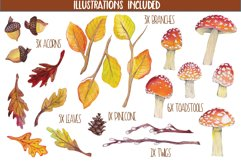 Autumn Time Clipart Product Image 2