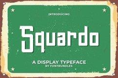 Web Font Squardo Product Image 1