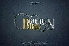 Golden Bird Serif font Cool Extras Product Image 1