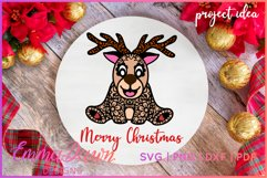 RUFUS THE REINDEER SVG CHRISTMAS MANDALA ZENTANGLE DESIGNS Product Image 3