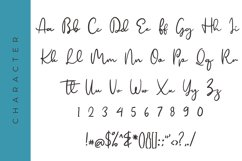 Prinzella Beautiful Calligraphy Font Product Image 2