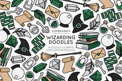 Wizarding Doodle Cliparts Bundle Product Image 4