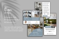 Real Estate Instagram, 27 Posts, Canva Product Image 2
