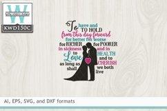 Wedding SVG - Wedding Vows Product Image 2