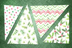 Watercolor 10 Christmas Patterns Product Image 4