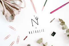MINIMAL FLORAL LETTER AND LOGO KIT Product Image 5