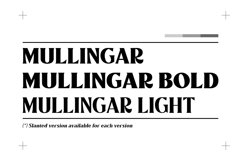 Mullingar Display Typeface Product Image 2