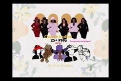 Church ladies Bundle, African American, Black women png Product Image 1