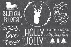 FARMHOUSE CHRISTMAS FONT BUNDLE - Dixie Type Co. Product Image 5