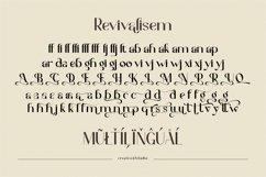 Revivalisem Sans Serif Font Product Image 4
