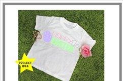 Girly Spring T-Shirt Mock Up Mockup Product Image 2
