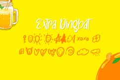 Orange Army - Cute Display Font Product Image 5